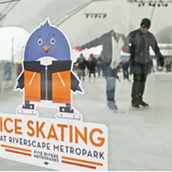 Ice Skating at MetroParks Ice Rink