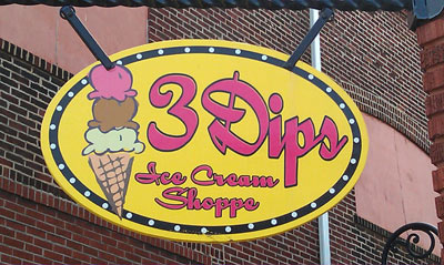 3 Dips Ice Cream Shoppe