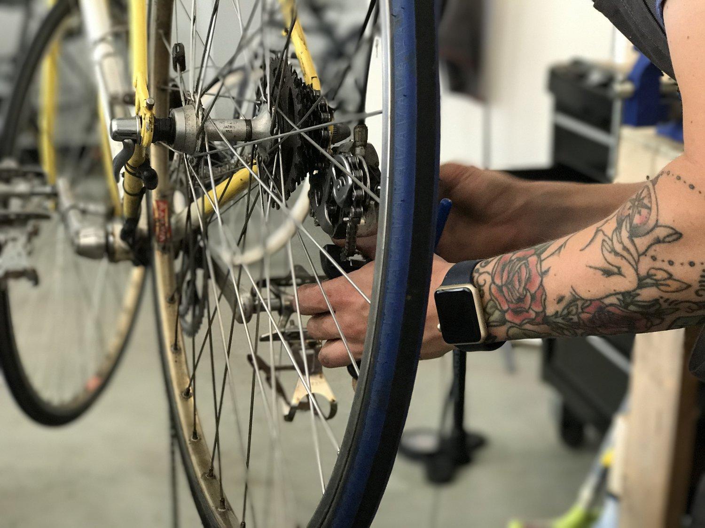 Spoken Bicycles repair
