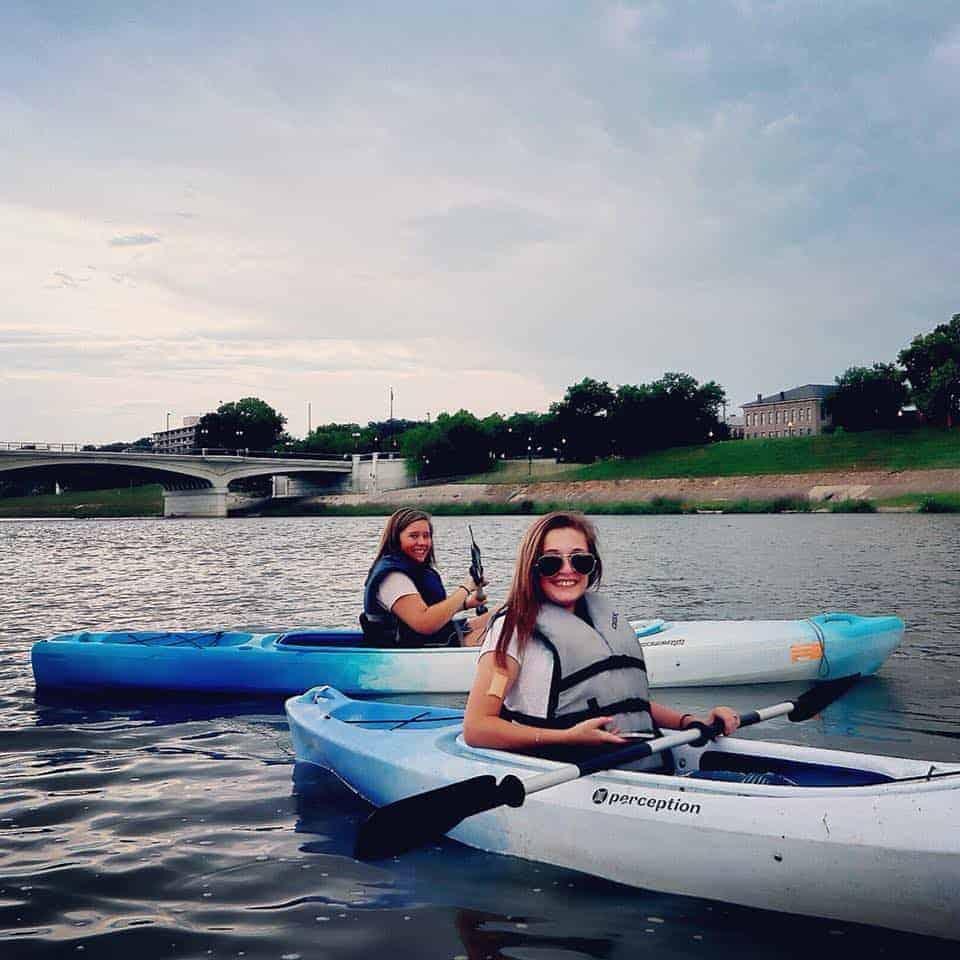 Kayaking Women