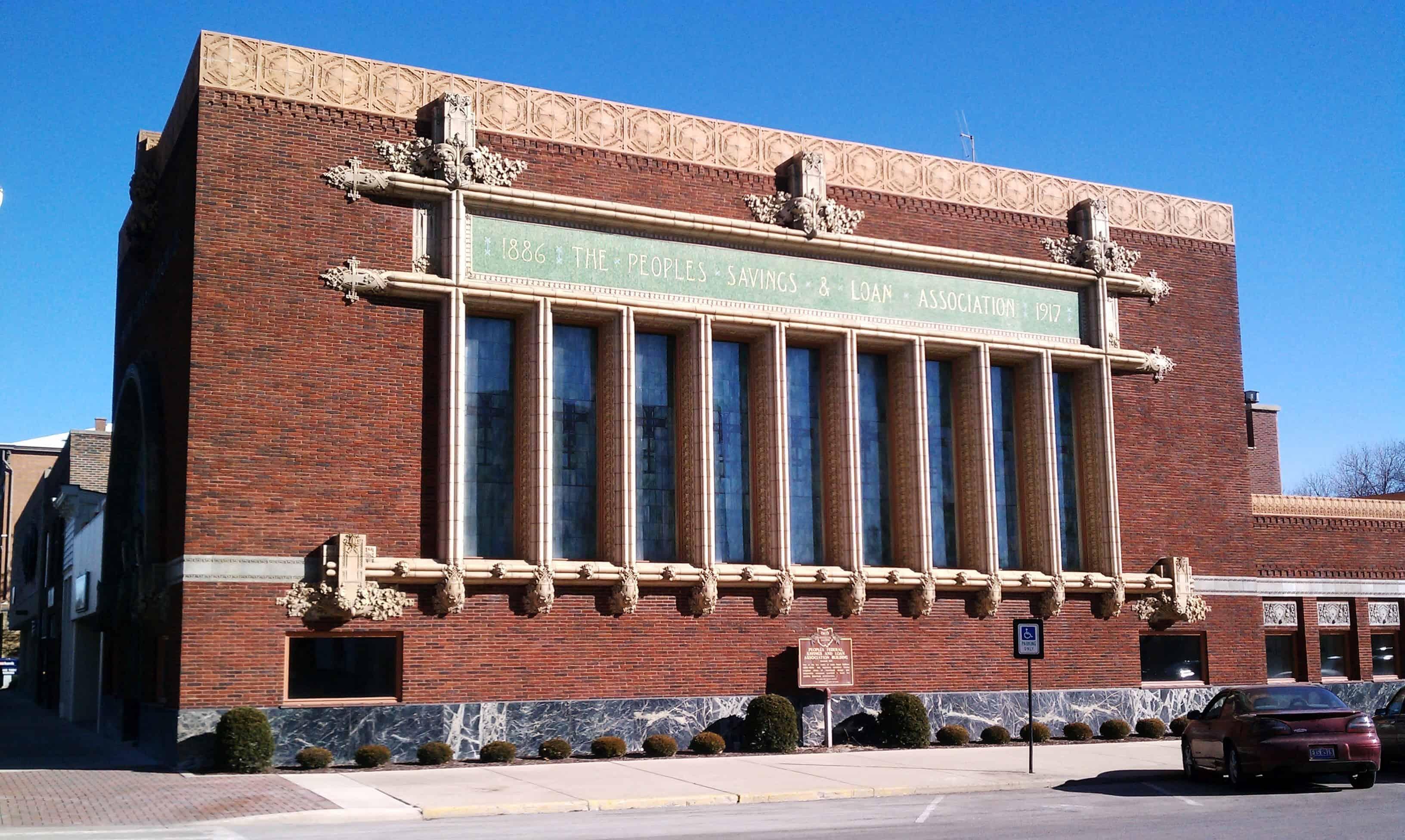 Historic Peoples Federal Savings & Loan Building
