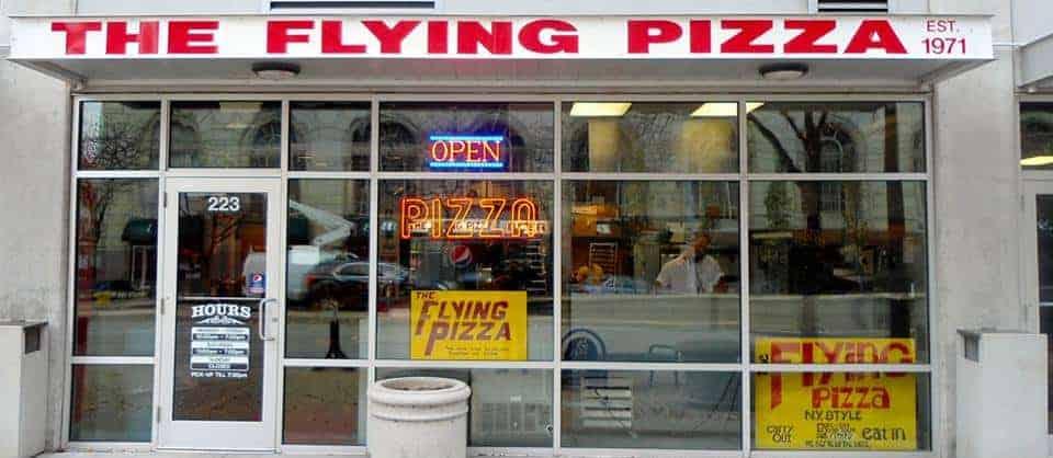 Original Flying Pizza