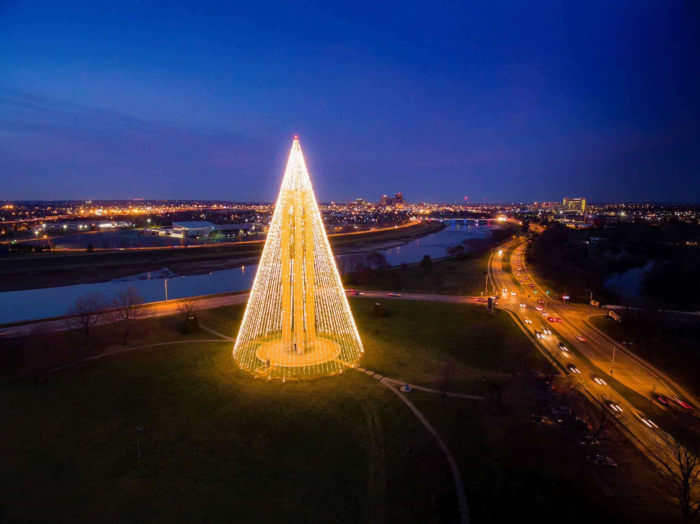 Christmas Carillon Tree