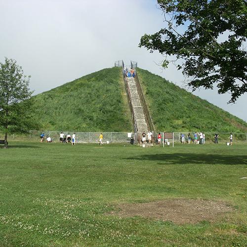 Adena Miamisburg Mound
