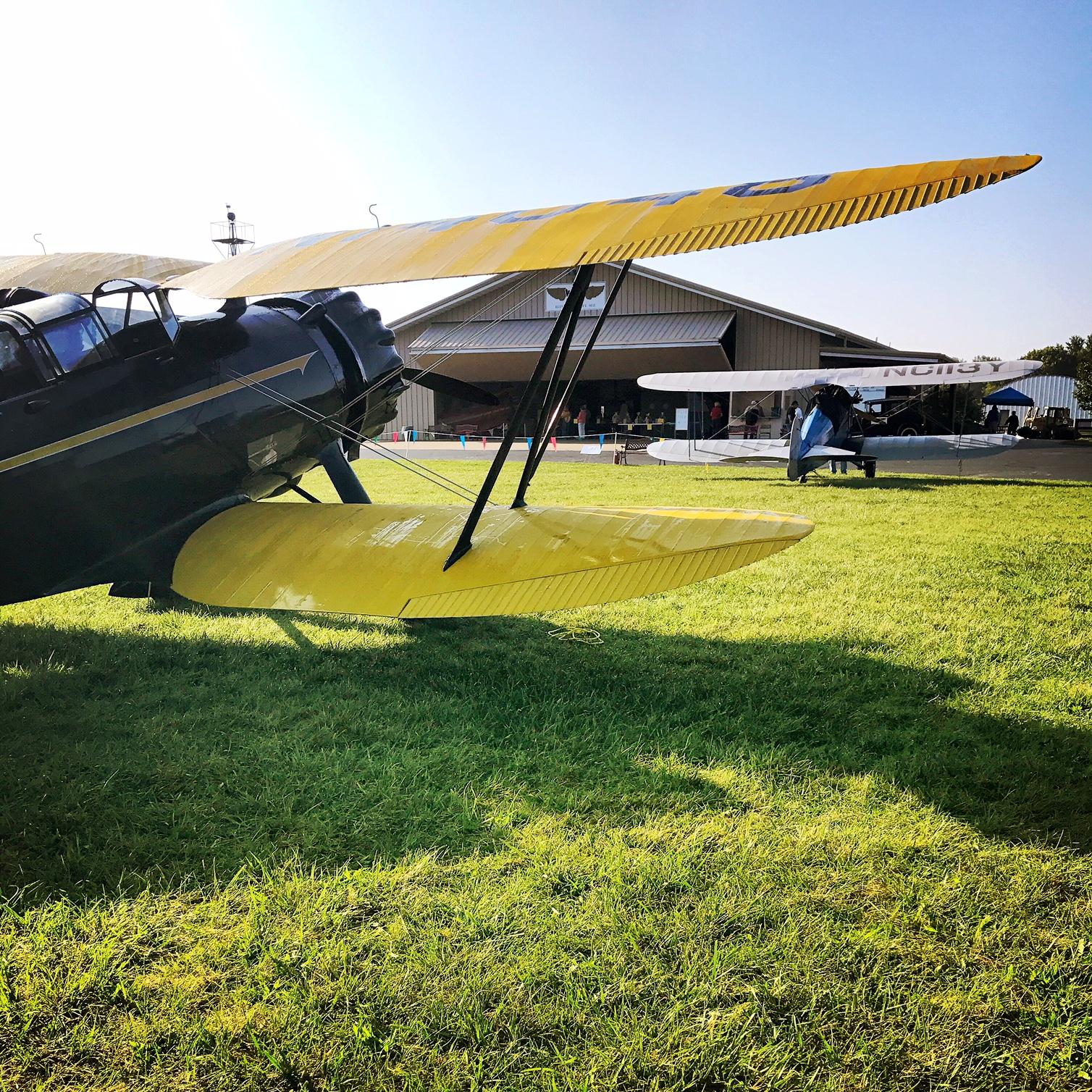 WACO Fly In
